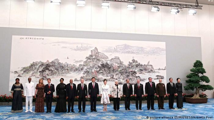 China Xiamen - BRICS Gipfeltreffen (picture-alliance /ZUMAPRESS/Kremlin Pool)