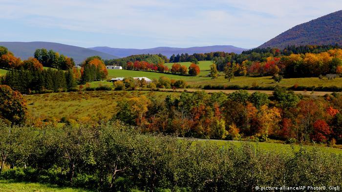 USA Berkshires Landschaft