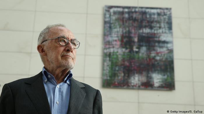Berlin Gerhard Richter Übergabe des Bildzyklus Birkenau