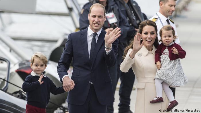 Kinder William Und Kate