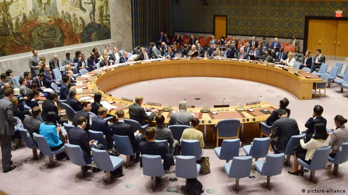 United Nations Security Council holds an emergency meeting