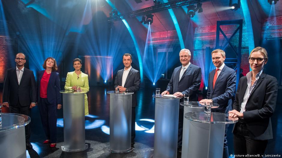 德國大選:各小黨搶當左右政壇的第3勢力(AP)