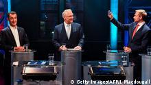 Deutschland - Live-Fünfkampf der kleinen Parteien in der ARD