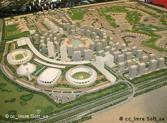 The Dubai Sports City is a $4 billion, 50,000,000 square feet (4,600,000 m2) mixed-use sports city[1] currently being constructed in Dubai, United Arab Emirates. The city will consist of apartment buildings as well as several sports facilities. The first structures are due to open in late 2007. Many people believed it was going to be used in Dubai's possible bid to host the 2016 Summer Olympics, but Dubai never submitted a bid.