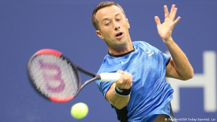 Philipp Kohlschreiber had no answers to Federer's game