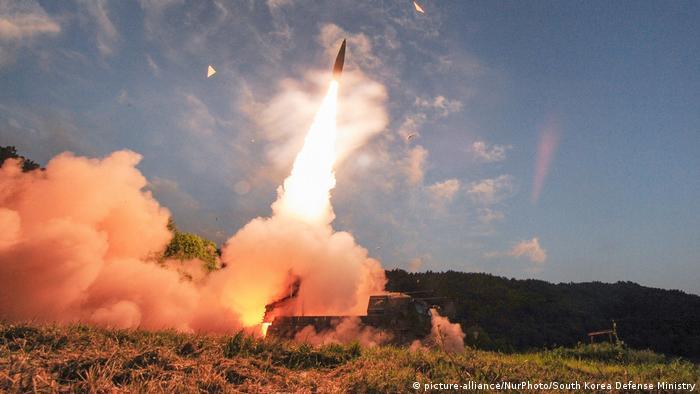 Südkorea Raketentest