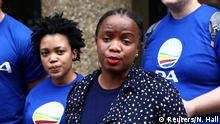 Phumzile Van Damme von der Democratic Alliance National Südafrikas
