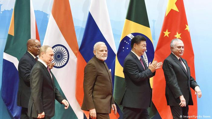 BRICS meeting Vladimir Putin, Narendra Modi, Xi Jinping, Jacob Zuma, Michel Temer