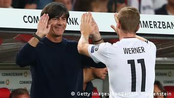 Fußball WM Qualifikation Deutschland - Norwegen Timo Werner Jogi Löw