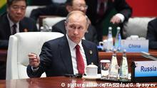China 2017 BRICS Gipfel - Putin