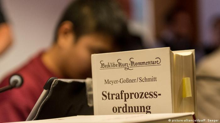 Freiburg Mordprozess beginnt (picture-alliance/dpa/P. Seeger)