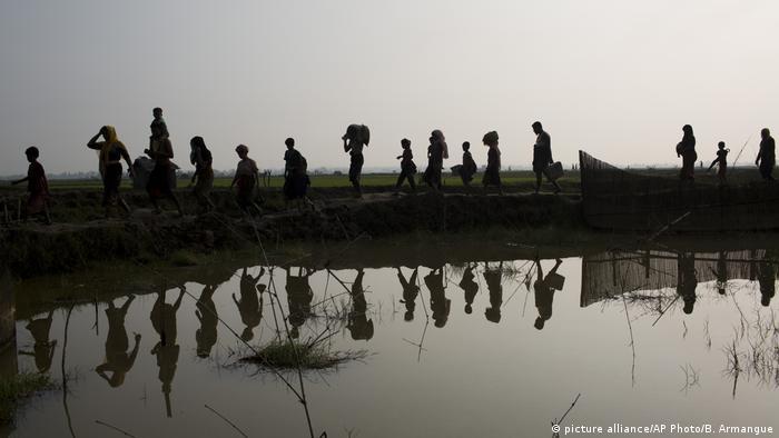 أجبر التطهير العرقي عام 2017 نحو 750 ألف شخص من أقلية الروهينغا المسلمة على الفرار من بورما إلى بنغلادش