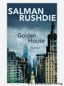 Book cover for Golden House in German, by Salman Rushdie (C. Bertelsmann Verlag)