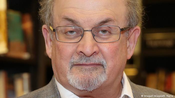 Autor Salman Rushdie (Imago/I Images/D. Haria )