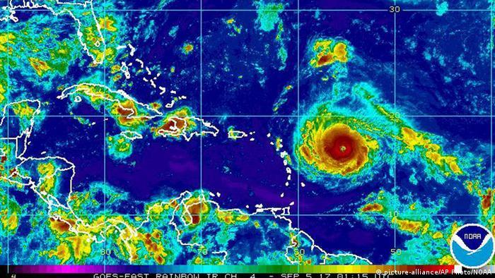 Hurricane Irma (picture-alliance/AP Photo/NOAA)