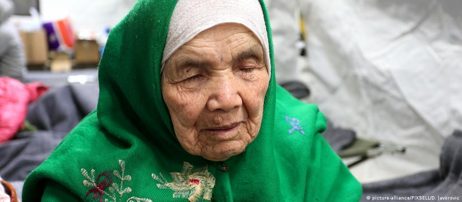 106-Jährige Afghanin Bibihal Uzbek