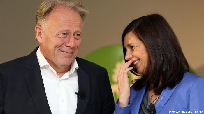 Jirgen Tritin i Analena Berbok, 2013.