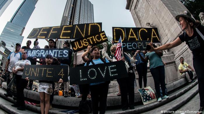 Протест у Нью-Йорку проти скасування програми захисту молодих іммігрантів DACA