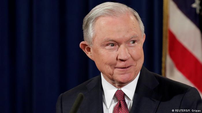 USA | Pressekonferenz Justizminister Jeff Sessions über DACA-Programm (REUTERS/Y. Gripas)