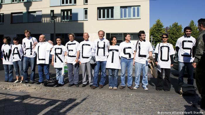 Bundestagswahl Menschen ohne Wahlrecht