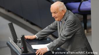 Alfred Grosser flet në Bundestag në ceremoninë përkujtimore për Luftën e Parë Botërore, korrik 2014