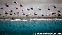 Strand in Antalya in Konyaalti