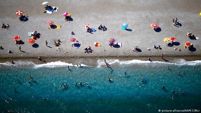 Пляж в Анталії