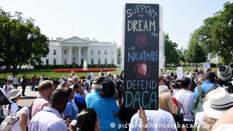 DACA Protest Washington USA (picture-alliance/abaca/O.Douliery)