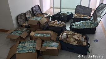 Dinheiro encontrado em apartamento de Geddel Viera Lima