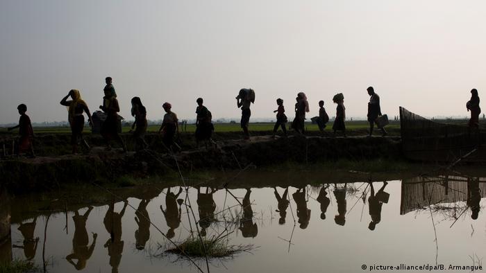 Bangladesch Massenflucht der Rohingyas