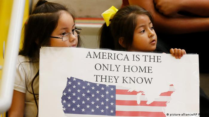 USA Daca-Programm Proteste in in Oklahoma City (picture-alliance/AP Photo/)
