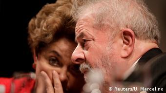 Dilma Rousseff and Luiz Inacio Lula da Silva in Brasilia