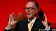 28.11.2016 FILE PHOTO: Carlos Arthur Nuzman, president of the Rio 2016 Olympic Organizing Committee delivers a speech during an opening plenary session at the IOC Debriefing Olympic Games Rio 2016 in Tokyo, Japan, November 28, 2016. REUTERS/Toru Hanai/File Photo