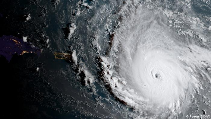 Hurrikan Irma Satelitenaufnahme (Reuters/NOAA)