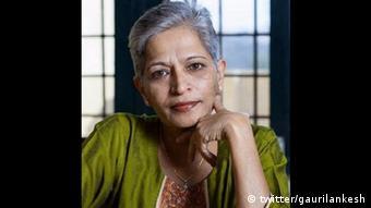 Gauri Lankesh (twitter/gaurilankesh)