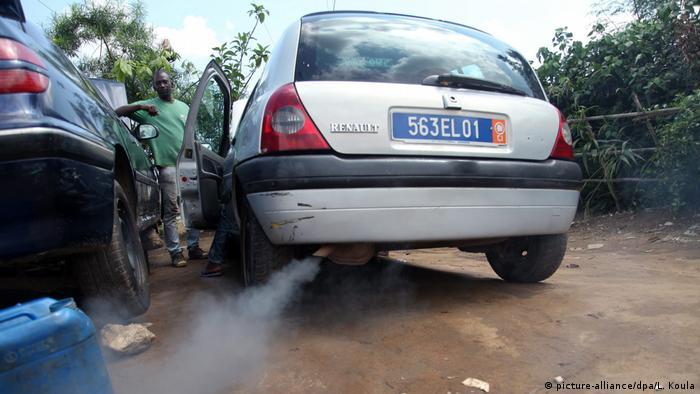 Afrika Elfenbeinküste - Afrika fährt weiter Diesel