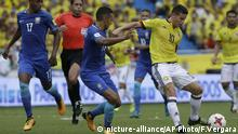 Kolumbien Brasilien Fußball WM Qualifikation James Rodriguez