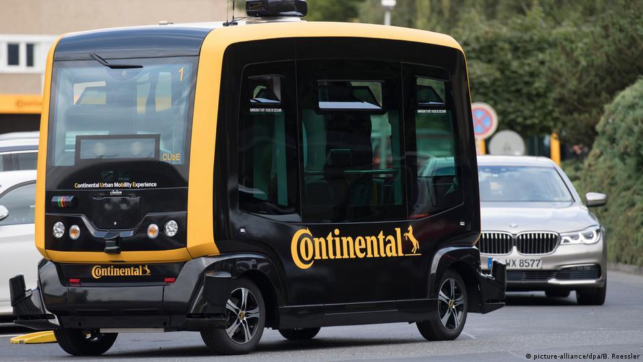 Такси без водителя Continental