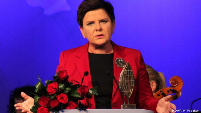 Premiê Beata Szydlo
