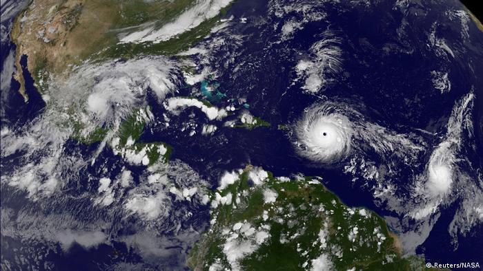 Hurrikan Irma Satelitenaufnahme (Reuters/NASA)
