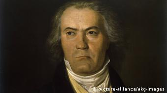 portrait of Beethoven by Waldmüller
