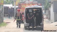 Bangladesch Dhaka - Sicherheitskräfte fanden sieben Schädel und weiteres in einem Versteck
