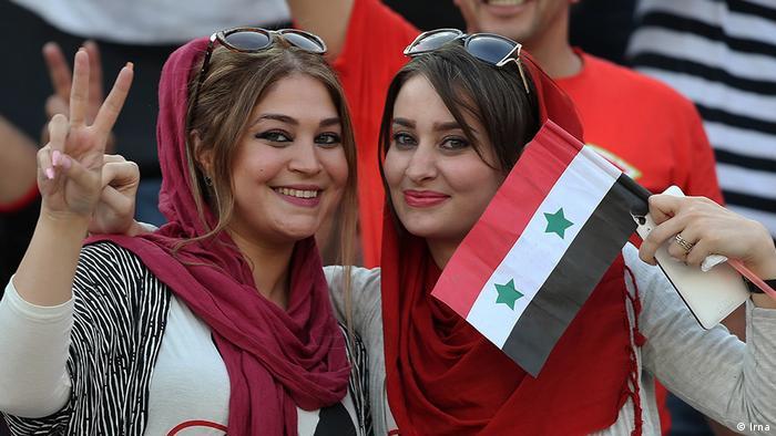 Fußballspiel Iran Syrien WM Qualifikation