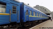 Zug nach Moskau am Lemberger HBF