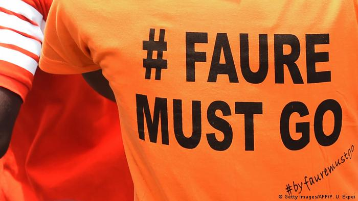 Togo Protest #Faure Must Go (Getty Images/AFP/P. U. Ekpei)