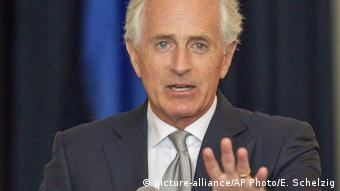 Bob Corker US Senator (picture-alliance/AP Photo/E. Schelzig)