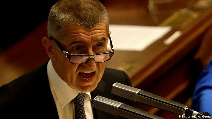 Tschechien Finanzminister Andrej Babis (Reuters/D. W. Cerny)
