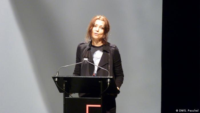 Deutschland | Internationales Literaturfestival Berlin ilb | Autorin Elif Shafak (DW/S. Peschel)
