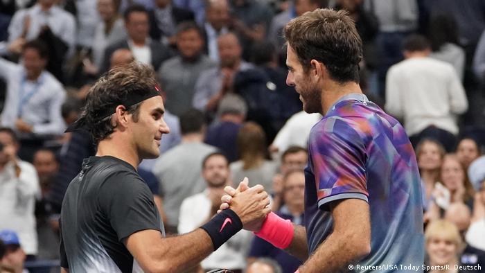 Us Open Del Potro Denies Federer Dream Semi Final Against Nadal Us Women Dominate More Sports Dw 06 09 2017