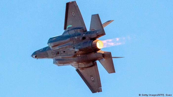 Israel Kampfjet der Luftwaffe